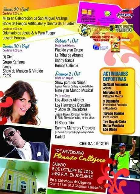 Fiestas Patronales de Utuado 2016