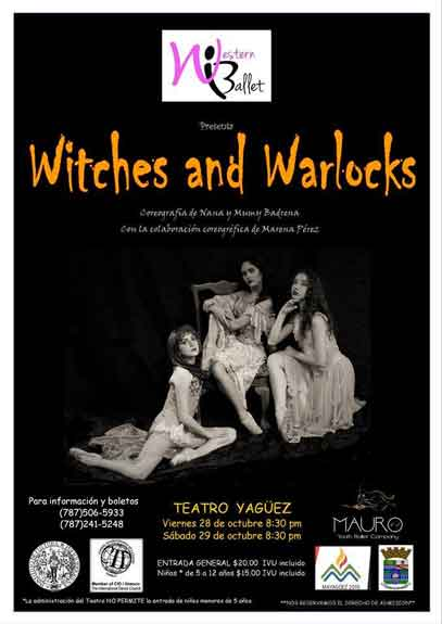 Witches and Warlocks Western Ballet 2016