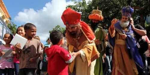 Fiesta de Reyes Magos en Juana Díaz 2017
