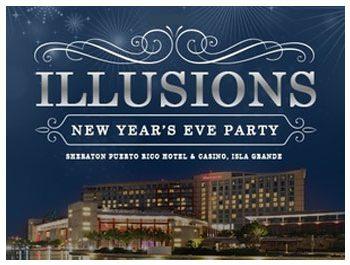 Illusions New Years Eve Celebration Sheraton Hotel