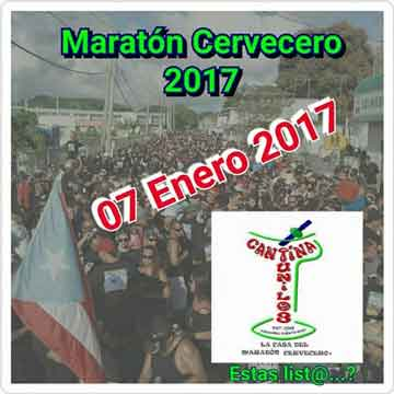 Maratón Cervecero en Naguabo 2017