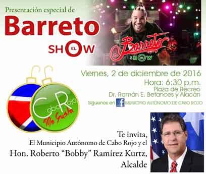 Encendido Navideño en Cabo Rojo 2016