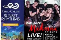 Tributo a Madonna en Paseo Caribe