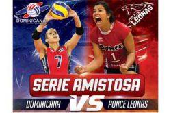 Serie Amistosa Dominicana vs Ponce Leonas