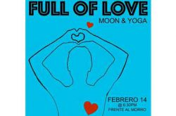 Full of Love Moon and Yoga 2017