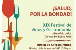 XIX Festival de Vinos y Gastronomía en Ponce 2017