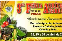3ra Feria Agricola Atabey UPR Ponce 2017