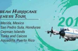 Avión caza huracanes visitará Aguadilla en abril 2017