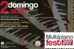 Multipiano Fest 2017 Conservatorio de Música