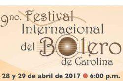 9no Festival Internacional del Bolero de Carolina 2017
