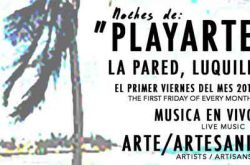 Noches de PlayaArte en La Pared Luquillo 2017