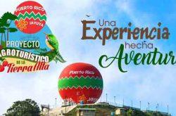 Inauguración Globo Aerostático en Jayuya 2017