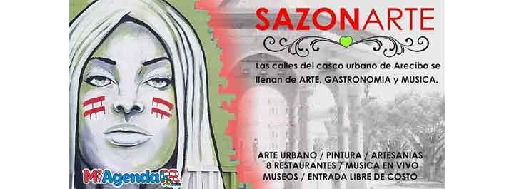 SazonArte en el casco urbano de Arecibo