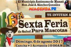 Feria de salud para mascotas 2017 en Manatí