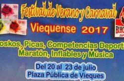 Festival de Verano y Carnaval Viequense 2017
