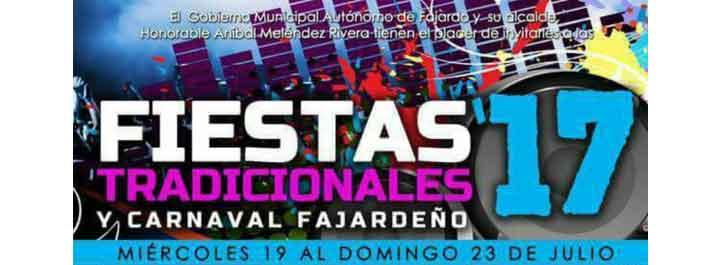 Fiestas Patronales de Fajardo 2017