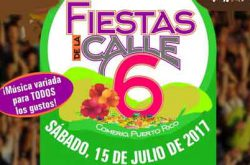 Fiestas de la Calle 6 en Comerío 2017