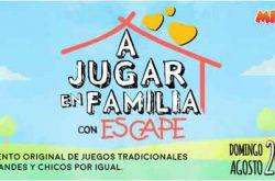 A Jugar en Familia con Escape 2017