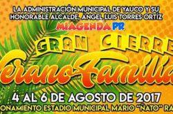 Cierre de Verano 2017 en Yauco