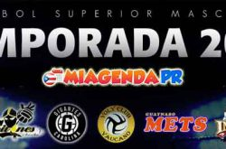 Itinerario juegos Voleibol Superior Masculino 2017 miagendapr
