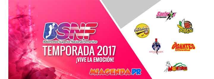 Itinerario Baloncesto Superior Femenino 2017