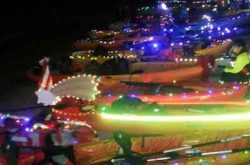 Familia Kayak Enciende la Navidad 2017