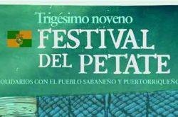 Festival del Petate en Sabana Grande 2017