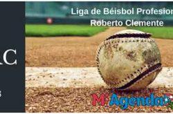 Itinerario juegos Liga Béisbol Profesional 2017