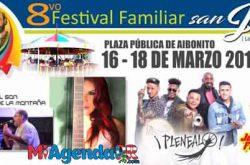 Octavo Festival Familiar San José 2018