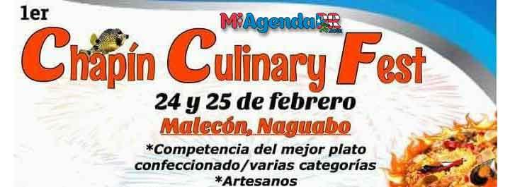 Primer Chapín Culinary Fest 2018
