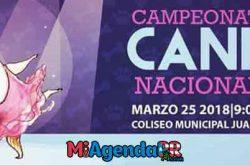 Campeonato Canino Nacional 2018