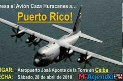 Avión caza huracanes visitará Ceiba en abril 2018