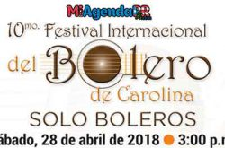 Festival Internacional del Bolero de Carolina 2018