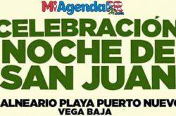 Celebración Noche de San Juan en Vega Baja 2018
