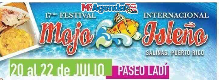 Festival del Mojo Isleño 2018 en Salinas