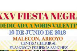 Fiesta Negra 2018 en Arroyo