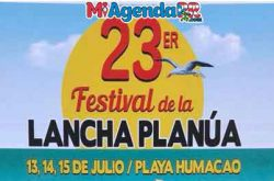 Festival de la Lancha Planúa 2018