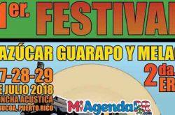 Festival del Azúcar, Guarapo y Melao 2018