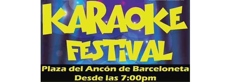 Karaoke Festival en Barceloneta