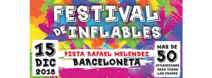 Festival de Inflables 2018 en Barceloneta