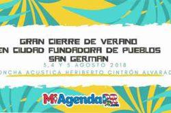 Gran Cierre de Verano en San Germán 2018
