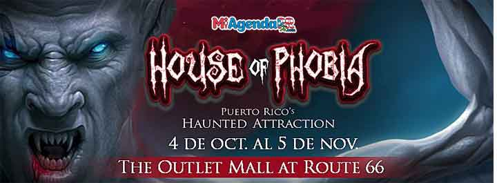 House Of Phobia 2018 Outlets de Canóvanas