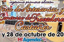 Feria de Artesanías y Trovadores de Castañer 2018
