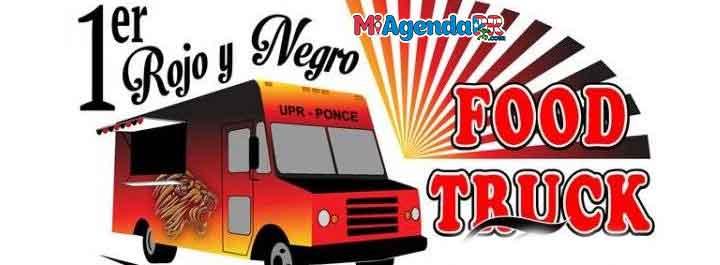 1er Rojo y Negro Food Truck Fest en Ponce 2019