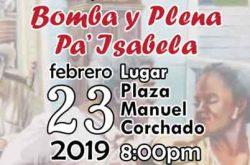 Bomba y plena pa' Isabela 2019