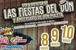 Las Fiestas del Don y Aniversario Don Maceta 2019