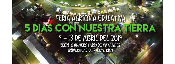 Feria Agrícola 5 Días con Nuestra Tierra 2019