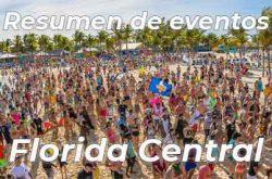 Calendario de Actividades en la Florida Central