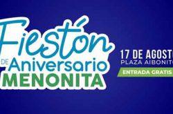 Fiestón de Aniversario Menonita 2019