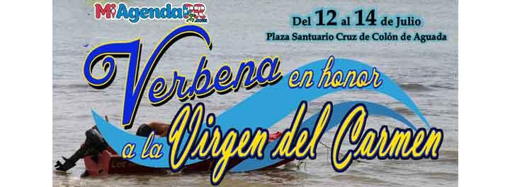 Verbena a la Virgen del Carmen en Aguada 2019